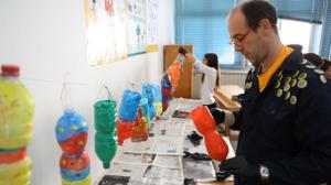 le bottiglie riciclate