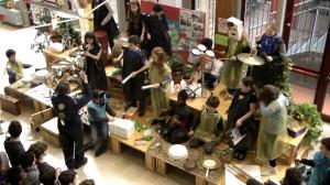 Il laboratorio musicale riciclante a Prato